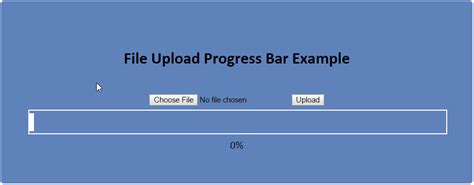 construct 2 progress bar tutorial file upload progress bar using php and jquery form plugin
