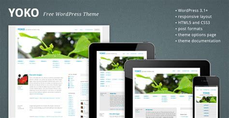theme wordpress yoko yoko theme gratis para wordpress 3 1 puertopixel com