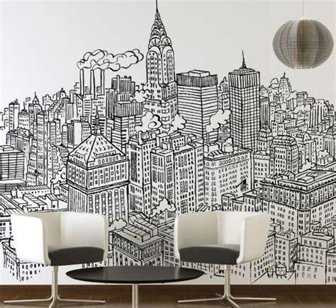 gambar gedung hitam putih  dinding paimin gambar