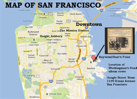 san francisco map outline current photos of album cover locations page 30
