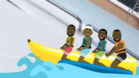 banana boat lebron picture lebron james dwyane wade and chris paul resume their