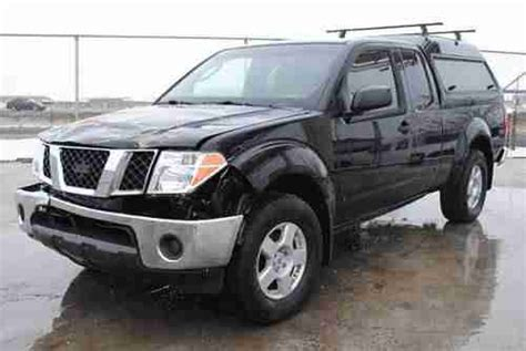 how to sell used cars 2006 nissan frontier find used 2006 nissan frontier se king cab 4wd damaged salvage low miles priced to sell in