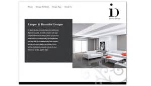 Interior Company Website Website Template For Interior Design Order Custom Website