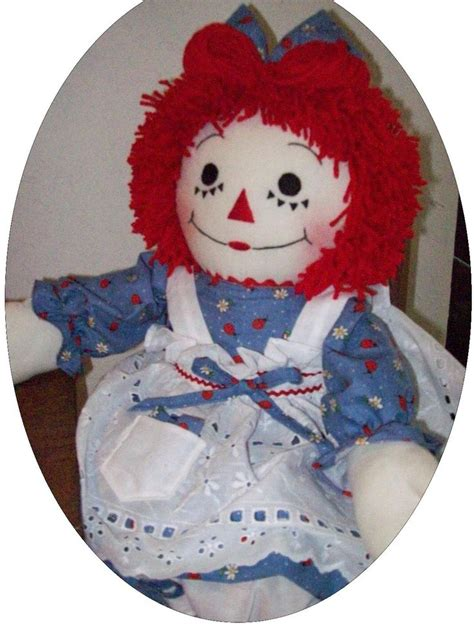 Handmade Raggedy Dolls For Sale - 17 best images about antique doll heads on