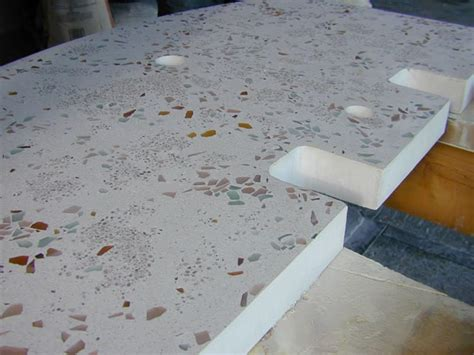 how to complete the form and pour concrete for a vanity