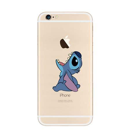 Disney Big 6 E0089 Iphone 5 5s Se Casing Custom Hardcase disney lilo stitch eat apple iphone 6s 6 plus se 5s 5 soft clear mavasoap