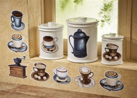 coffee themed kitchen canisters coffee themed kitchen decor curtains creative coffee