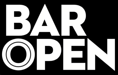 what is open on bar open bar open