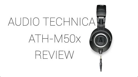 audio technica ath mx  depth review youtube