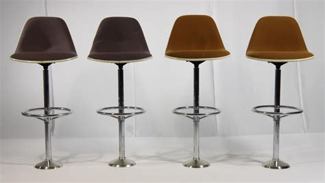 charles eames bar stool vintage bar stools by ray charles eames for herman miller set of 4 for sale at pamono