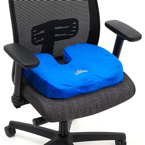 comfortable seat cushion black mountain products orthopedic comfort stadium seat