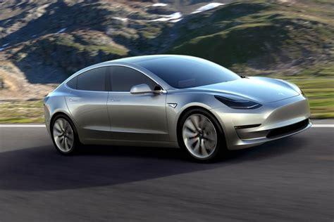Tesla Elbil Tesla Model 3 Den Extremt Hypade Elbilen Som Lever Upp