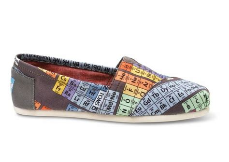 toms periodic table shoes pin by bubby on i want