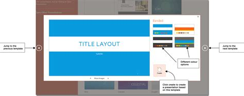 creating a template in powerpoint design microsoft powerpoint 2013 tutorials