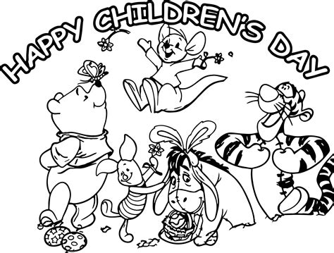 Coloring Pages For Childrens Day by Coloring Pages For Children S Day Coloring Page