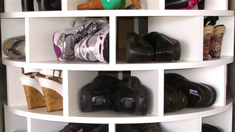 make your own shoe storage make your own lazy susan shoe rack
