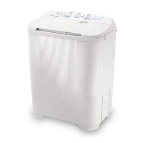 Mesin Cuci Sharp Puremagic sharp puremagic mesin cuci 2 tabung es t65mw bk 6 5 kg