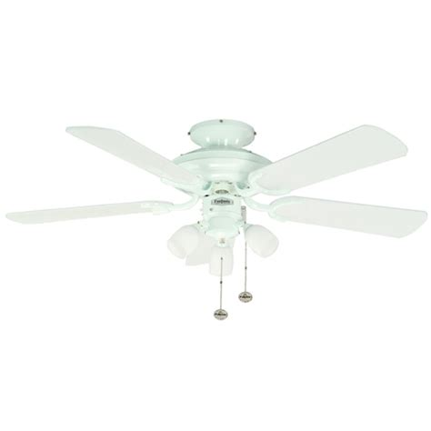Fantasia Ceiling Fan Lights Fantasia Mayfair Ceiling Fan 42 Inch White With Light 111825