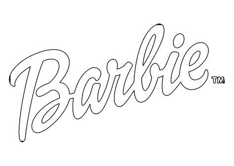 Barbie Logo Coloring Pages | barbie logo coloring pages coloring pages