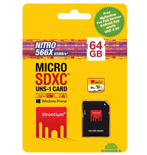 Strontium Microsd Card strontium nitro uhs 1 microsd cards launched in india starts from rs 990