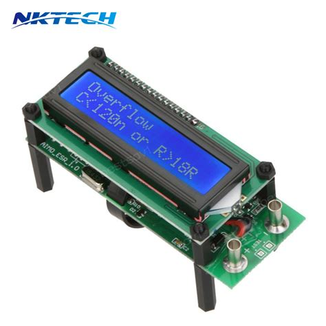 capacitor esr inductance resistor meter lc meter ୧ʕ ʔ୨esr01 auto range digital lcr っ tester tester resistance capacitance inductance