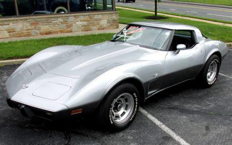 ws 1978 corvette 25th anniversary