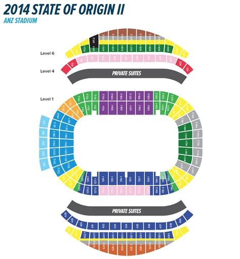 anz stadium floor plan anz stadium map anz seating map australia