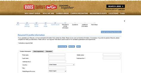 printable job application for giant eagle giant eagle job application apply online