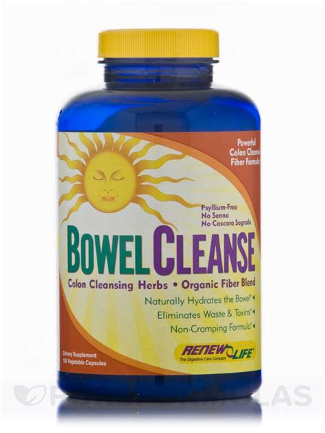 Renew Liver Detox Directions by Organic Bowel Cleanse 150 Capsules
