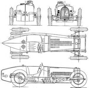Bugatti Blueprints Car Blueprints Bugatti Type 59 3 3l Gp Blueprints