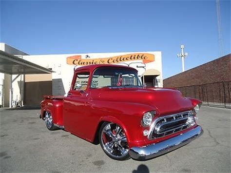1957 chevy truck hot rod sell used 1957 chevrolet 3100 pick up in las vegas
