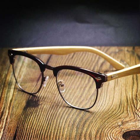 matte brillengestelle kaufen gro 223 handel bambus brillen aus china bambus