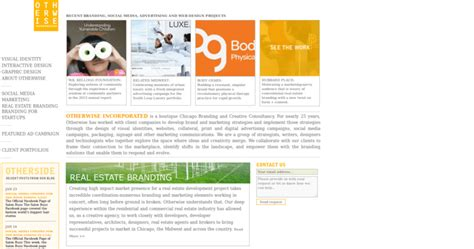 otherwise inc best real estate web design firms
