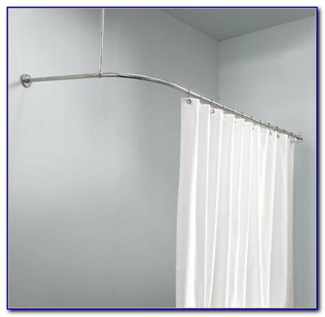 l shaped drapery rod l shaped shower curtain rod 60 x 30 curtain home