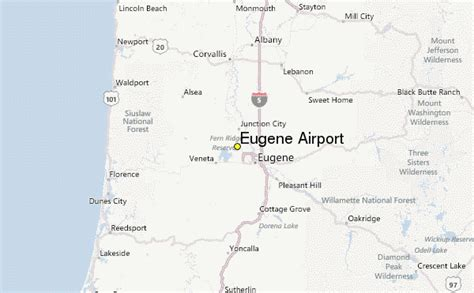 map of oregon airports eugene airport weather station record historical weather