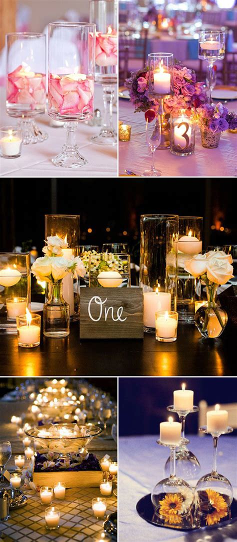 Big Wedding Decorations by Wedding Ideas 30 Ways To Use Candles For Your Big