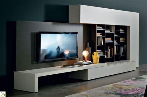 mobili a parete per soggiorno parete soggiorno attrezzata librano arredo design
