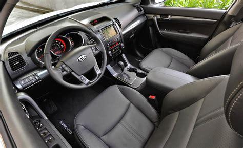 2012 Kia Sorento Interior car and driver