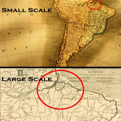 large scale map 1 1 what is a map i