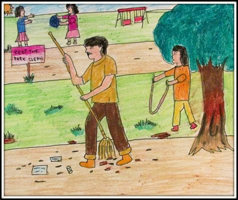 Keep Our City Clean Essay by Park By