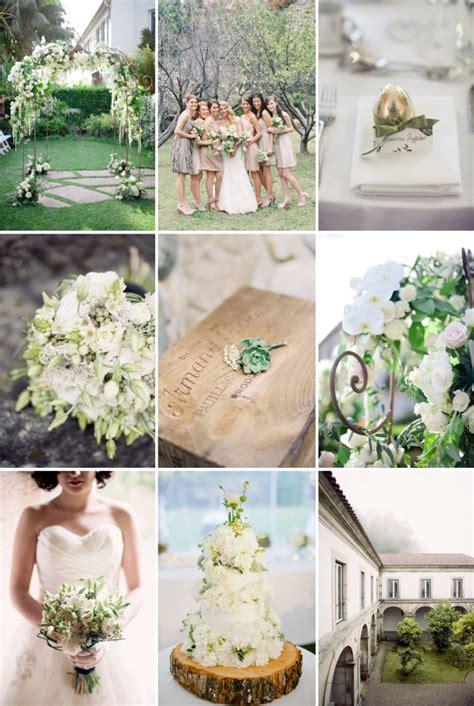 clashy colors wedding colors soft greens creams