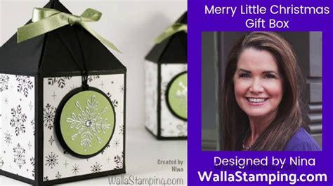merry  christmas gift box youtube