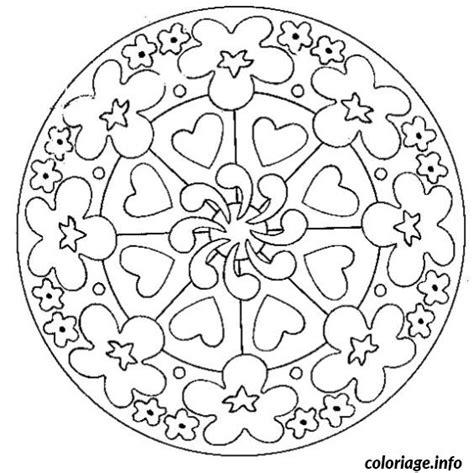 Coloriage Mandala Fete Des Meres Dessin