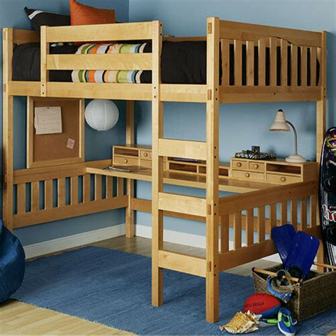 Ebay Bunk Bed With Desk by Loft Bed With Ladder Ebay