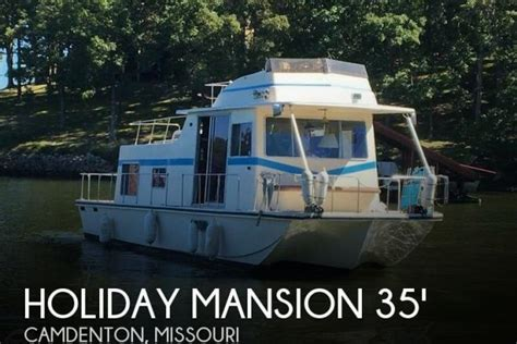 boat rentals in camdenton mo 1978 holiday mansion barracuda 35 foot 1978 house boat