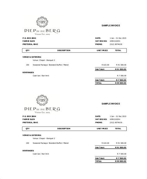 free cake receipt template cake invoice template 11 free word pdf documents