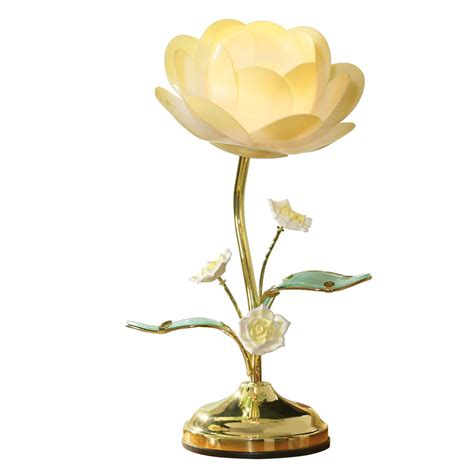 Lotus Flower Table Touch L By Collections Etc Ebay