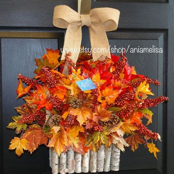 fall decor on sale wreaths on sale fall wreath thanksgiving from aniamelisa