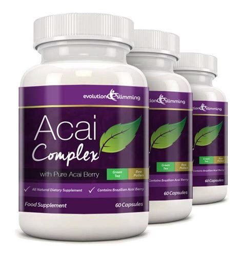 Label Detox Tea Coffee Weight Loss Antioxidant by Acai Plus Complex Capsules Antioxidant With Green Tea