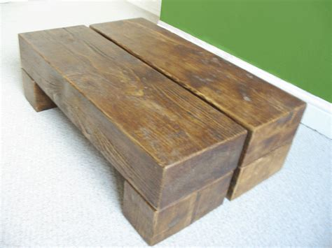 Chunky Step Wooden Coffee Table Rustic Design The Cool Cool Wooden Coffee Tables